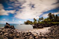 Rocky Tropical Beach Royalty Free Stock Photos