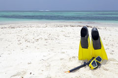 Tropical beach Maldives Royalty Free Stock Photography