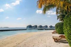 Tropical beach, Maldives Royalty Free Stock Photography