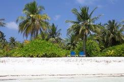 Tropical beach Maldives Stock Photography