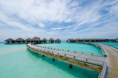 Tropical beach at Maldives Royalty Free Stock Photography