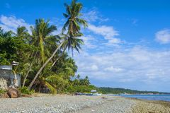 Marindique island , The Philippines. Tropical beach in Marindique island , The Philippines Stock Image