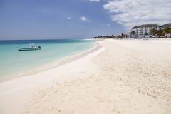 Tropical beach Mexico Stock Image