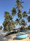 Tropical beach at Mui Ne, Vietnam Royalty Free Stock Photography