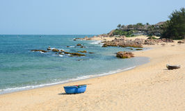 Tropical beach at Nha Trang, Vietnam Royalty Free Stock Photo