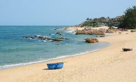 Tropical beach at Nha Trang, Vietnam Royalty Free Stock Photo