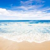 Tropical beach ocean Royalty Free Stock Photos