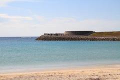 Tropical beach in Okinawa Stock Image