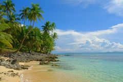 Paradise in the Philippines Royalty Free Stock Image