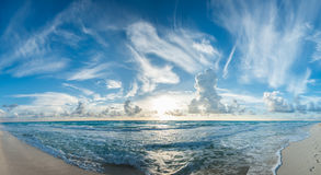 Tropical beach panorama. Image of tropical beach panorama Royalty Free Stock Images