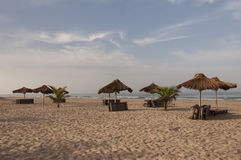 Tropical Beach paradise. Beach paradise on the coast of The Gambia Stock Photography