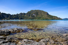 Tropical beach in Philippines Royalty Free Stock Image
