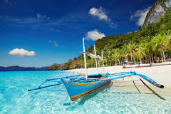 Tropical beach, Philippines. Tropical beach, South China See, El-Nido, Philippines Royalty Free Stock Image