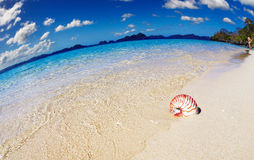 Tropical beach, Philippines Stock Photo