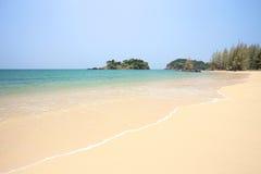 Tropical beach in Phra Tong Island Royalty Free Stock Photos