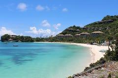 A tropical beach. Royalty Free Stock Photos
