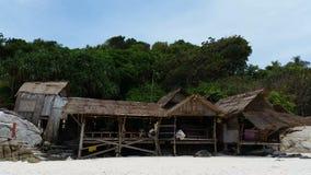 Tropical Beach Racha Island.  stock video footage