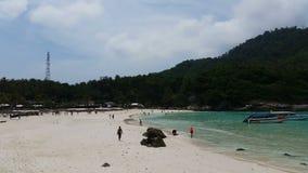 Tropical beach Racha Island Thailand. Tropical Beach Racha Island stock video footage