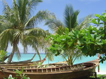 Tropical Beach Resort Royalty Free Stock Images