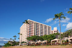 Tropical beach resort Stock Photo