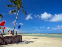 Tropical Beach Resort Stock Photography