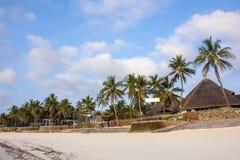 Tropical Beach Resort. A tropical beach resort in Watamu, Kenya Royalty Free Stock Image