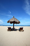Tropical Beach Retreat Royalty Free Stock Image