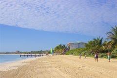 Beach in Riviera Maya, Mexico. Tropical beach in Riviera Maya, Mexico Stock Images