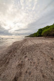 Tropical beach at santa teresa costa rica. Tropical beach and forest at santa teresa costa rica Stock Photos