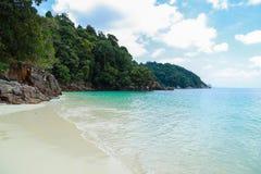 Tropical beach scenery, Andaman sea Stock Photo