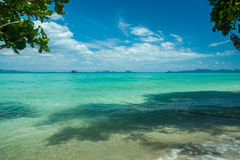 Tropical beach scenery. Beautiful Koh Kradan island, Trang Province. Thailand Stock Photo