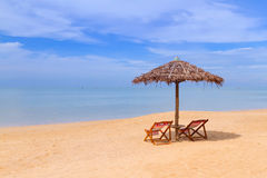 Tropical beach scenery in Thailand Royalty Free Stock Photos