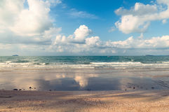 Tropical beach and sea Royalty Free Stock Images