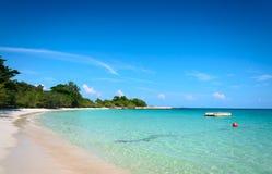 Tropical beach and sea Royalty Free Stock Photos