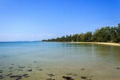 Tropical beach sea scence Stock Photography