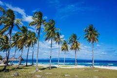 Tropical beach and sea Stock Photos
