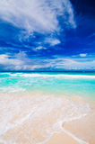 Tropical beach. The Seychelles Stock Image