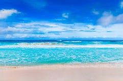 Tropical beach. The Seychelles Stock Photo