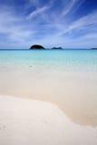 Tropical beach shore Stock Photos