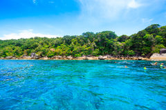 Tropical beach, Similan Islands, Andaman Sea Stock Photography