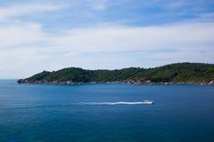Tropical beach, Similan Islands, Andaman Sea Stock Photography