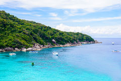 Tropical beach, Similan Islands Stock Photos