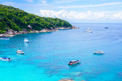 Tropical beach, Similan Islands Royalty Free Stock Images