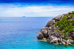 Tropical beach, Similan Islands Royalty Free Stock Image