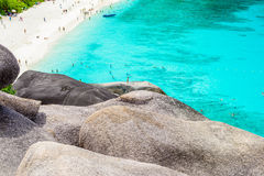 Tropical beach, Similan Islands Royalty Free Stock Photo