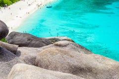 Tropical beach, Similan Islands Royalty Free Stock Photo
