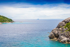 Tropical beach, Similan Islands Royalty Free Stock Photography