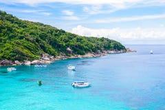 Tropical beach, Similan Islands Royalty Free Stock Photos