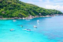 Tropical beach, Similan Islands Stock Images