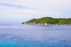 Tropical beach, Similan Islands Stock Photography